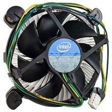 Вентилятор для процессора Intel Original for Soc-1156/1150/1151/1155, Al, OEM (E97379)