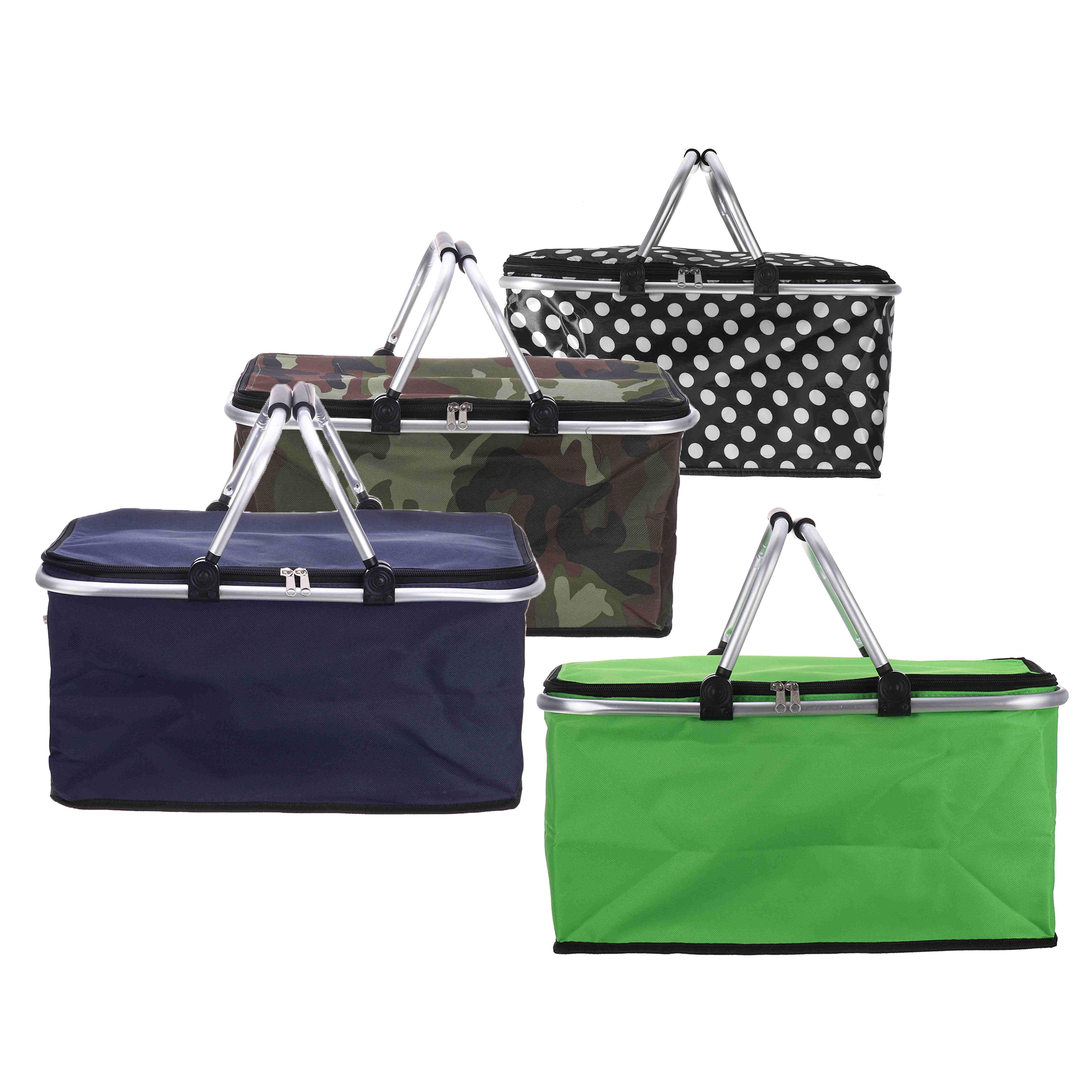 30L Foldable Thermal Insulated Bag Cooler Bags Pizza Food Pizza Delivery Picnic Storage Holder Functional Bag Storage Basket