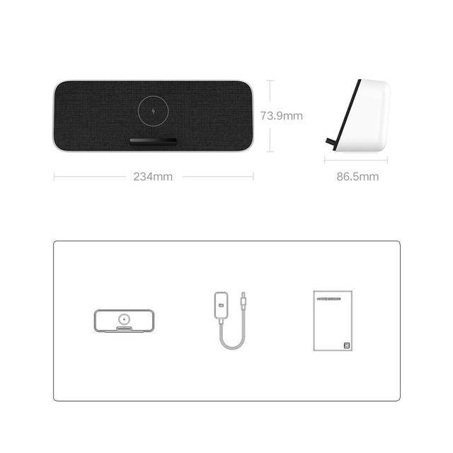 Altavoz y cargador inalámbrico Xiaomi - Mi Wireless Charge Bluetooth Speaker 30W 6