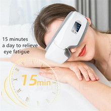 Massage-Glasses Vibration Electric-Eye-Massager Eye-Care-Instrument Hot-Compress Bluetooth