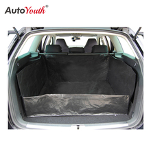 AUTOYOUTH plandeki PE mata bagażnika samochodowego wodoodporna ochrona na pas samochodowy koc dla większej czystości w samochodzie
