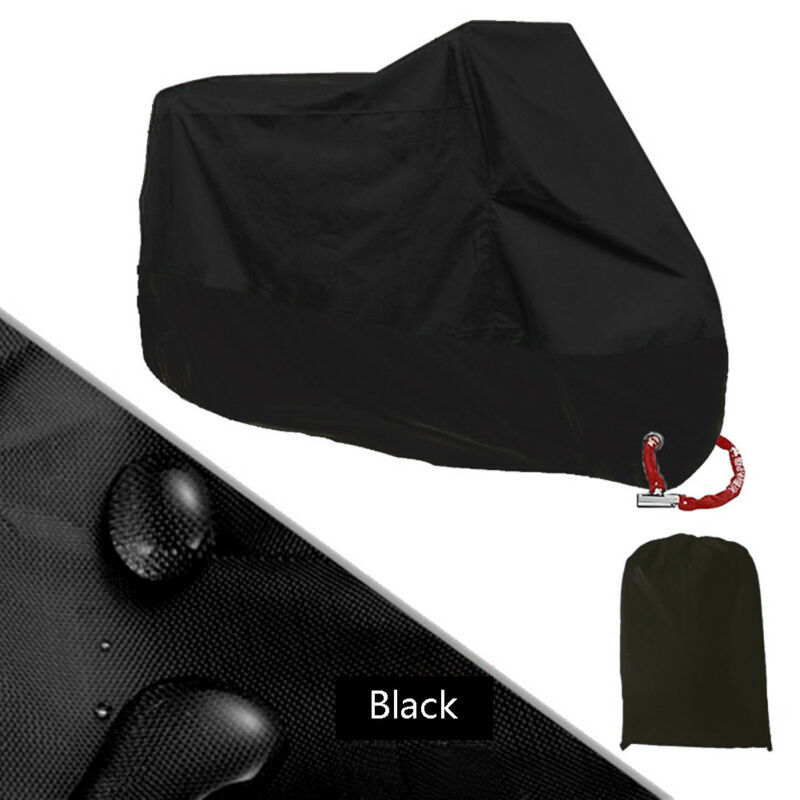 Used Either Indoor Or Outdoor 1 X Waterproof Dust-proof Motorcycle Rain Cover Motor Bike Scooter UV Protector
