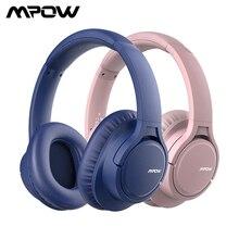 Mpow H7 kablosuz kulaklıklar Stereo Bluetooth kulaklık kablolu kablosuz mod Tablet PC için mikrofon ile Xiaomi Huawei için iOS