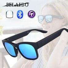 Polarized Sunglasses Bluetooth Bone Conduction Headset man&woman Smart Glasses Wireless Sport Stereo Audio Headphone
