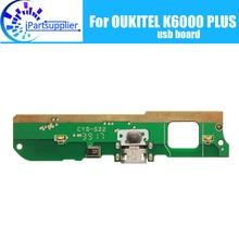 Oukitel k6000 plus placa usb 100% original novo para usb plug carga placa acessórios de substituição para oukitel k6000 plus