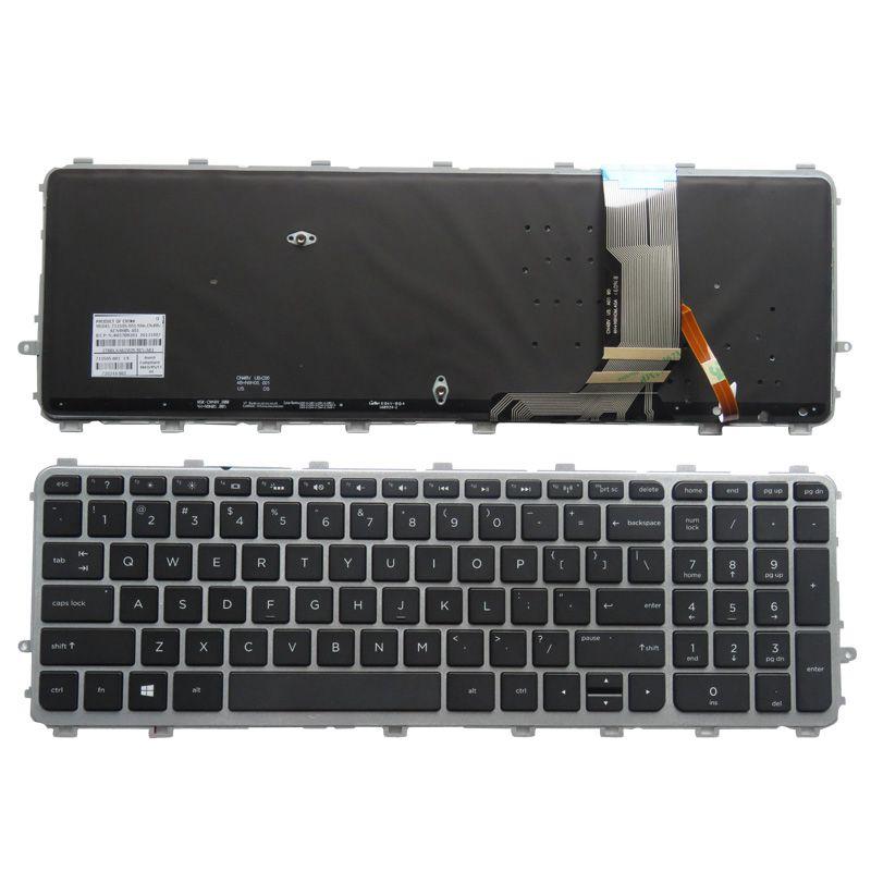 YALUZU New English Backlit Keyboard for HP ENVY 15 J 17 J 720244 001 711505 001 736685 001 6037B0093301 V140626AS2 laptop US new