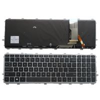 YALUZU New English Backlit Keyboard for HP ENVY 15 J 17 J 720244 001 711505 001 736685 001 6037B0093301 V140626AS2 laptop US new