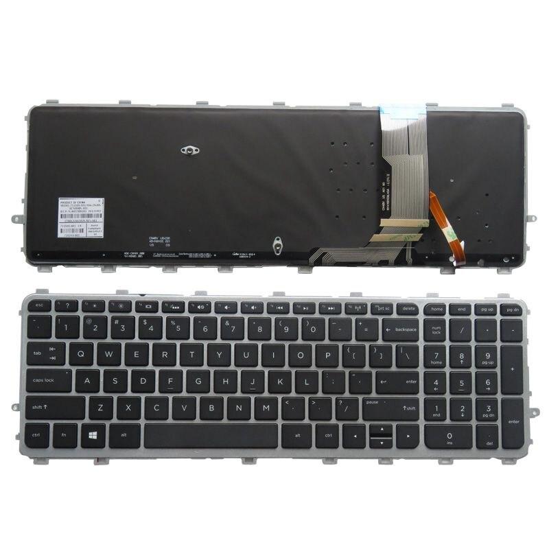 New Original HP Envy 17T-J000 17T-J100 Keyboard US backlit 720244-001 720245-001