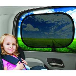 Visor-Shield-Cover Care-Accessories Sun-Stopper Car-Window-Shades Children Blinds Mesh