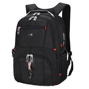 2020 мужской большой Ёмкость рюкзак для ноутбука Рюкзаки зарядка через usb фирменные Повседневное спортивные сумки для катания на коньках Для ...