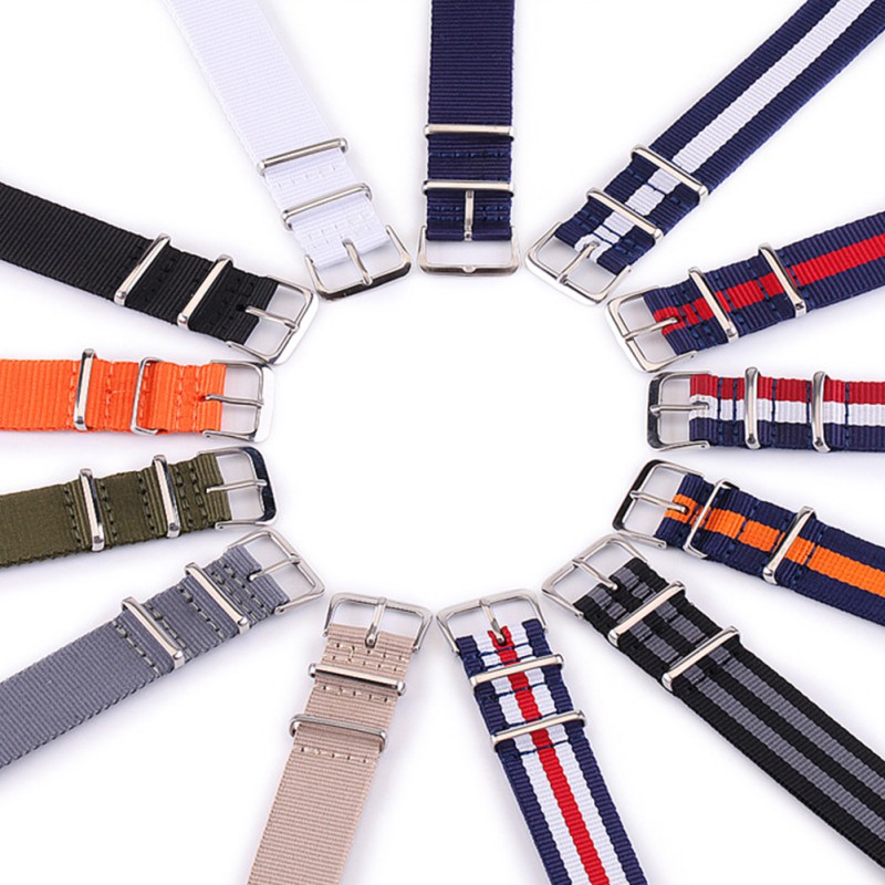 Ремешок для часов гибкий Регулируемый дышащий пыленепроницаемый нейлоновый браслет наручные часы аксессуары для офиса тренажерный зал праздник|Ремешки для часов|   | АлиЭкспресс