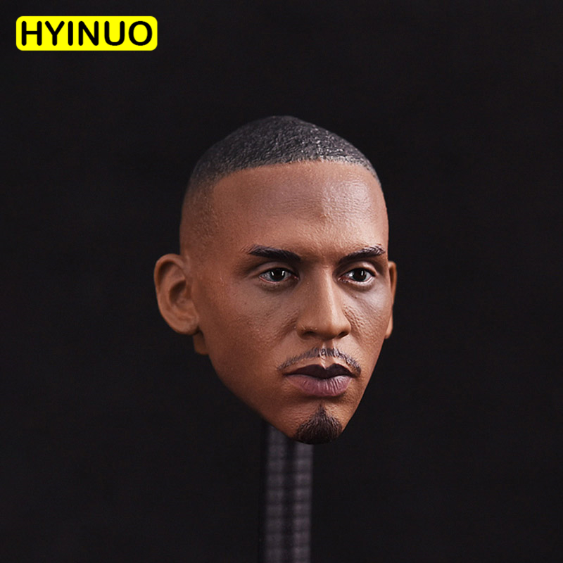 1/6 Scale Basketball Star Professional Basketball Player Anfernee Hardaway Head Sculpt Headplay for 12 Action Figure Body image