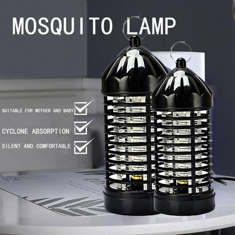 EU/US Plug Mosquito Killer Electric Mosquito Lamp Photocatalysis Mute Radiationless LED Insect Killer Flies Trap Light TSLM1
