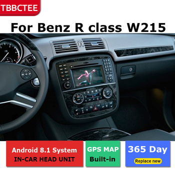 2 Din Android radio bluetooth GPS Navigation wifi Stereo video For Mercedes Benz R class W215 2005~2013 Car Multimedia Player image