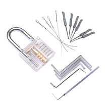 Locksmith-Tools Hardware Broken-Key-Extractor Practice Transparent NAIERDI with Removing-Hooks
