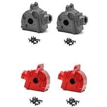 Caixa de engrenagens da onda do metal escudo capa carcaça diferencial 144001-1254 para wltoys 144001 1/14 rc peças de carro