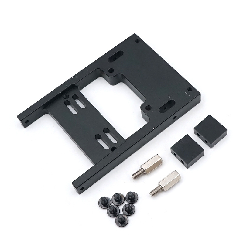 Refit Steering Gear Fixed Plate Mount for 1//16 WPL B1 B14 B16 C24 RC Truck Parts
