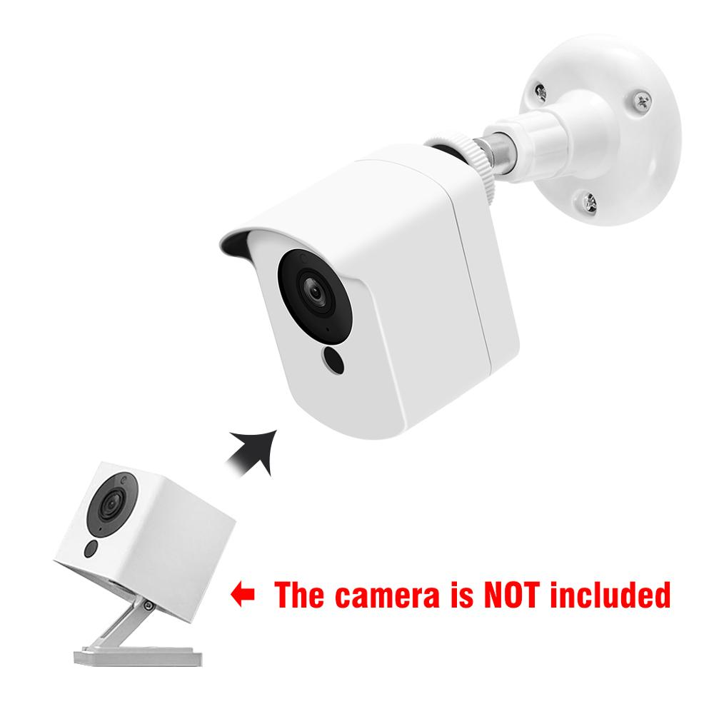 Adjustable Mount Bracket with Wall Screws Anchors Indoor//Outdoor Mini Camera Support Stand for Surveillance CCTV Camera Black Security Camera Wall Mounts Bracket