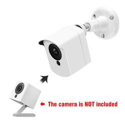 Para xiaomi mijia xiaofang câmera 1s/wyze cam suporte de montagem na parede 360 graus ajustável indoor/outdoor suporte capa caso