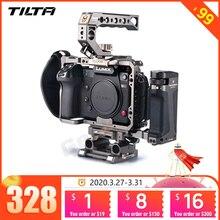 Tilta TA T17 A G 조작 케이지 소니 A7II A7III A7S A7S II A7R II A7R IV A9 조작 케이지 소니 A7/A9 시리즈 기울이기 대 Smallring