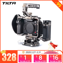 Tilta jaula de aparejo de TA T17 A G para Sony A7II A7III A7S A7S II A7R II A7R IV A9, jaula de aparejo para SONY A7/A9 series Tiltaing VS Smallring