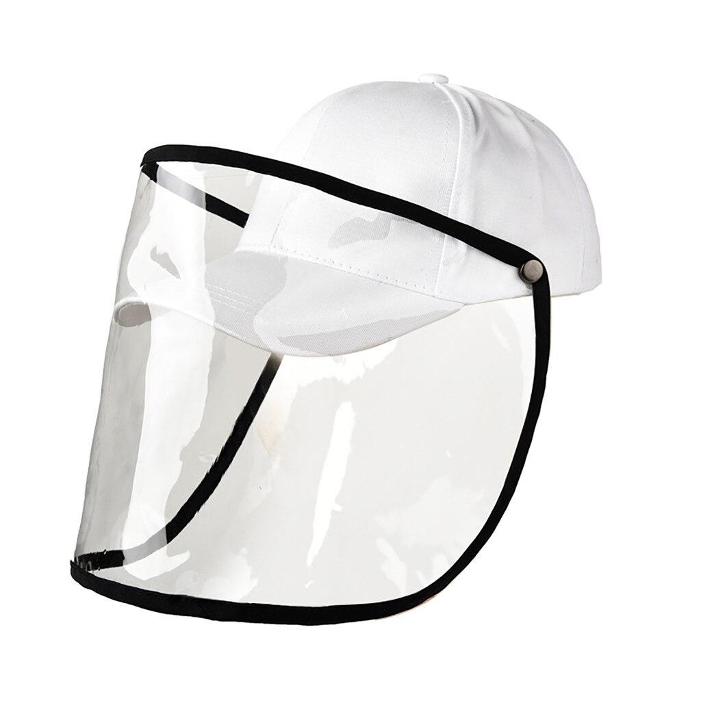 JAYCOSIN Fashion Color sólido Anti-spitting protector cubre gorro de pescador al aire libre tamaño ajustable gorra de pico C23