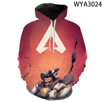 Game Apex Legends Boy Girl Kids Printed 3D Hoodies Pullover Men Women Children  Sweatshirts Streetwear Fashion Clothes Jacket 2