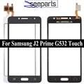 ЖК-дисплей 5,0 ''для Samsung Galaxy J2 Prime, сенсорный экран G532 SM-G532F G532F G532M G532G, сенсорный экран, переднее стекло, объектив