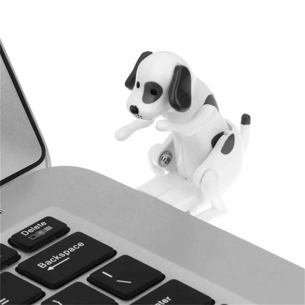 Przenośny mały uroczy usb do komputera gadżety śmieszne Humping Spot pies Rascal zabawka dla psa zwolnić ciśnienie zabawka dla pracownik biurowy