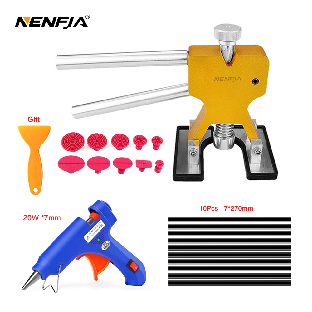 Car Body paintless dent repair tools Dent Repair Kit Car Dent Puller with Glue Puller Tabs Removal Kits for Vehicle Car Tools
