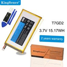 KingSener New T7GD2 Tablet Battery For DELL Venue 7 3736 T7GD2 05YTM4 Tablet Batteries 3.7V 15.17WH melobo melogo трость 9302