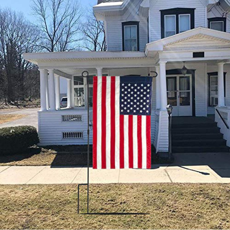 Double Sided American Garden Flag USA Decorative Flags Weather Resistant Independence Day