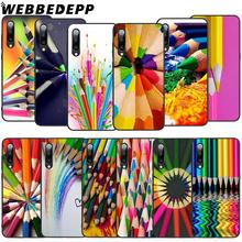 WEBBEDEPP Colored pencil painting Soft TPU Case for Xiaomi Mi 6 8 A2 Lite 9 A1 Mix 2s Max 3 F1 9T A3 Pro CC9E Cover
