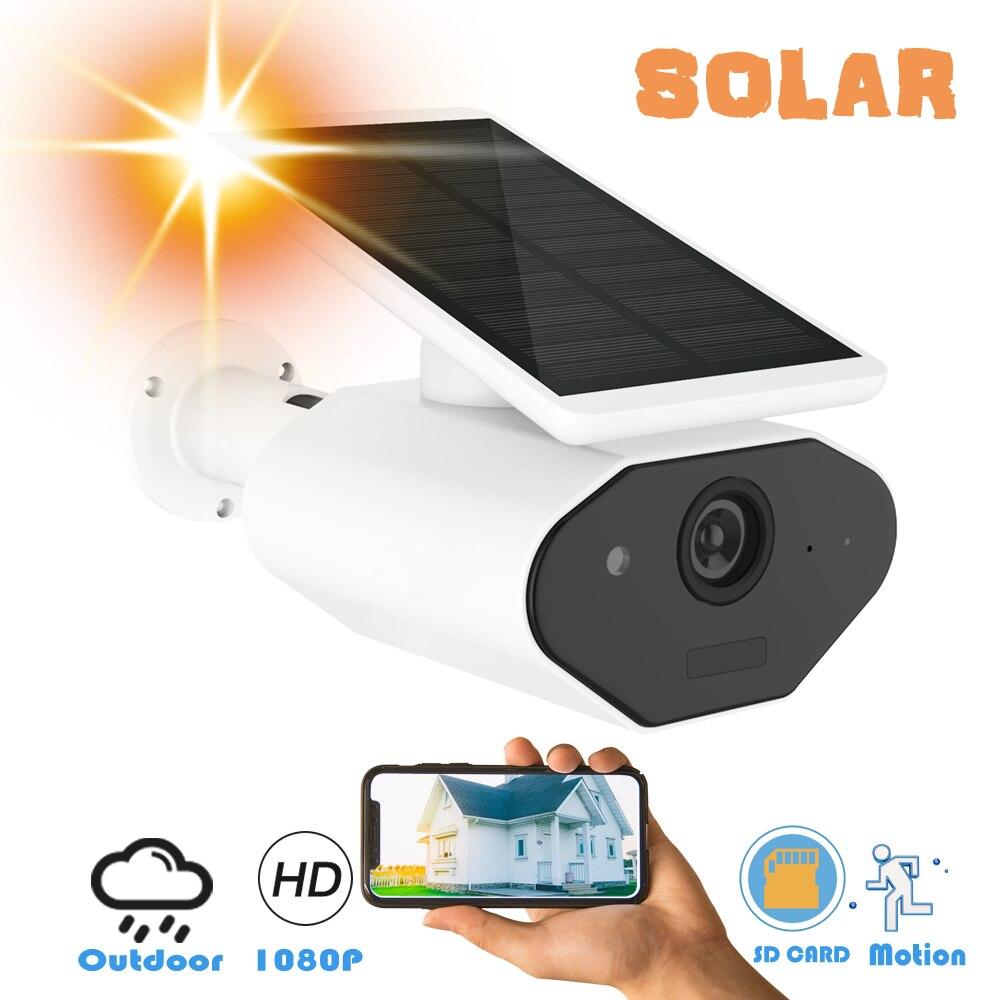 CTVMAN Wifi Camera Outdoor Solar 1080P Battery IP Camera Wireless PIR Nightvision CCTV Security Surveillance Cloud Bullet IP Cam