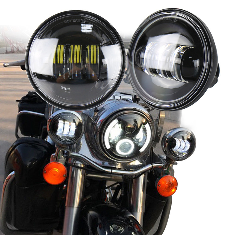 The Vectra 4.5 Inch 30 W Fog Lamps Motorcycle Performance Special Harley-davidson Led Headlamp Fog Lamps