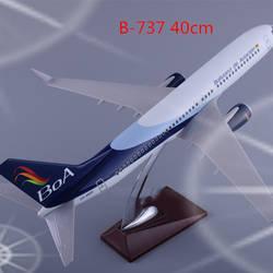 40 см Boeing B737 BOA Bolivia Airways 1: 172 масштаб авиационная модель самолета база сплав самолет коллекционная игрушка Коллекция