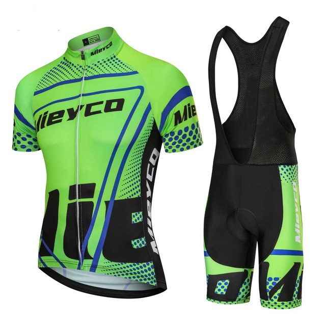 Mieyco 2020 Summer Men's Cycling Jersey Bib Tights Sets Male Short Sleeve Bike Compression Suits Quick Dry Mounatain bike Racing