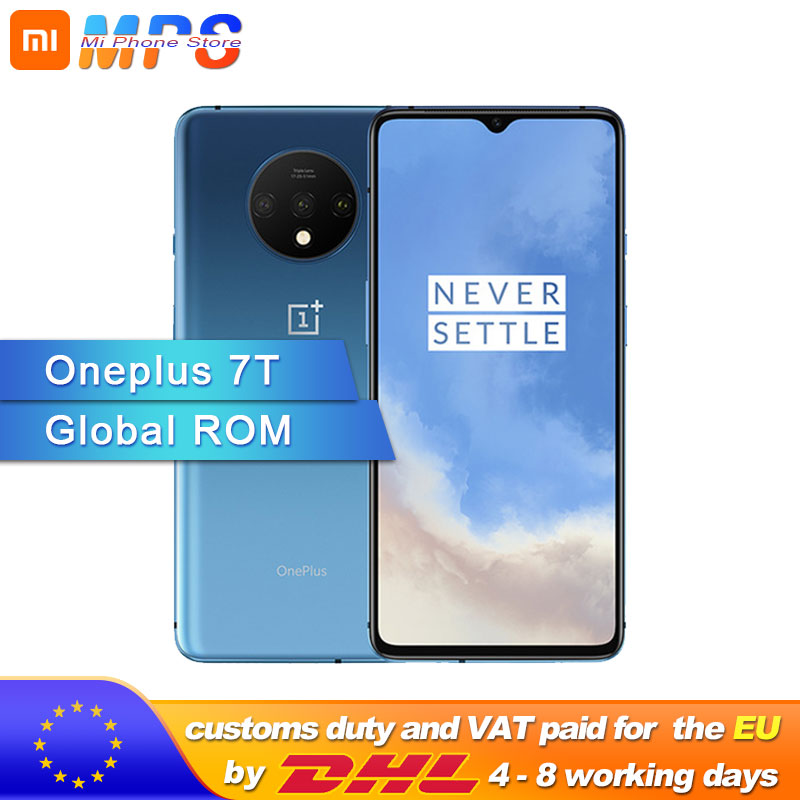 New Original <font><b>Oneplus</b></font> 7T <font><b>7</b></font> T <font><b>Smartphone</b></font> 8GB RAM 128GB ROM 256GB ROM Snapdragon 855 Plus 48MP Camera Android 10 6.55'' Screen 90Hz image