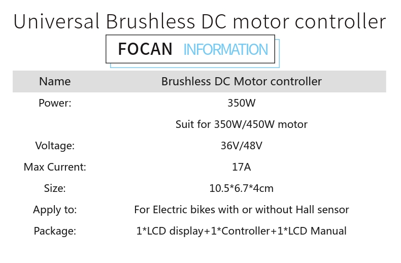 brushless dc controlador do motor