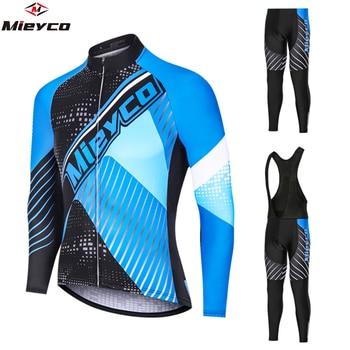Mieyco-Camiseta De Ciclismo para Hombre, conjunto De pantalones cortos para Ciclismo De...