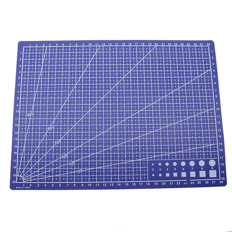 22 X 30cm / Patchwork Anti Cutting Board Cutting Plate Engraving Plate Supporting Tools Hand