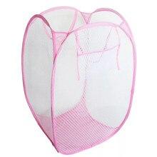 Креативная складная корзина для стирки, корзина для белья, нейлоновая сетка, детские игрушки, органайзер, корзина для хранения одежды