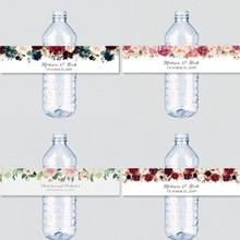 Stickers Wedding-Water-Bottle-Labels Custom Party-Decoration Bride Birthday-Anniversary