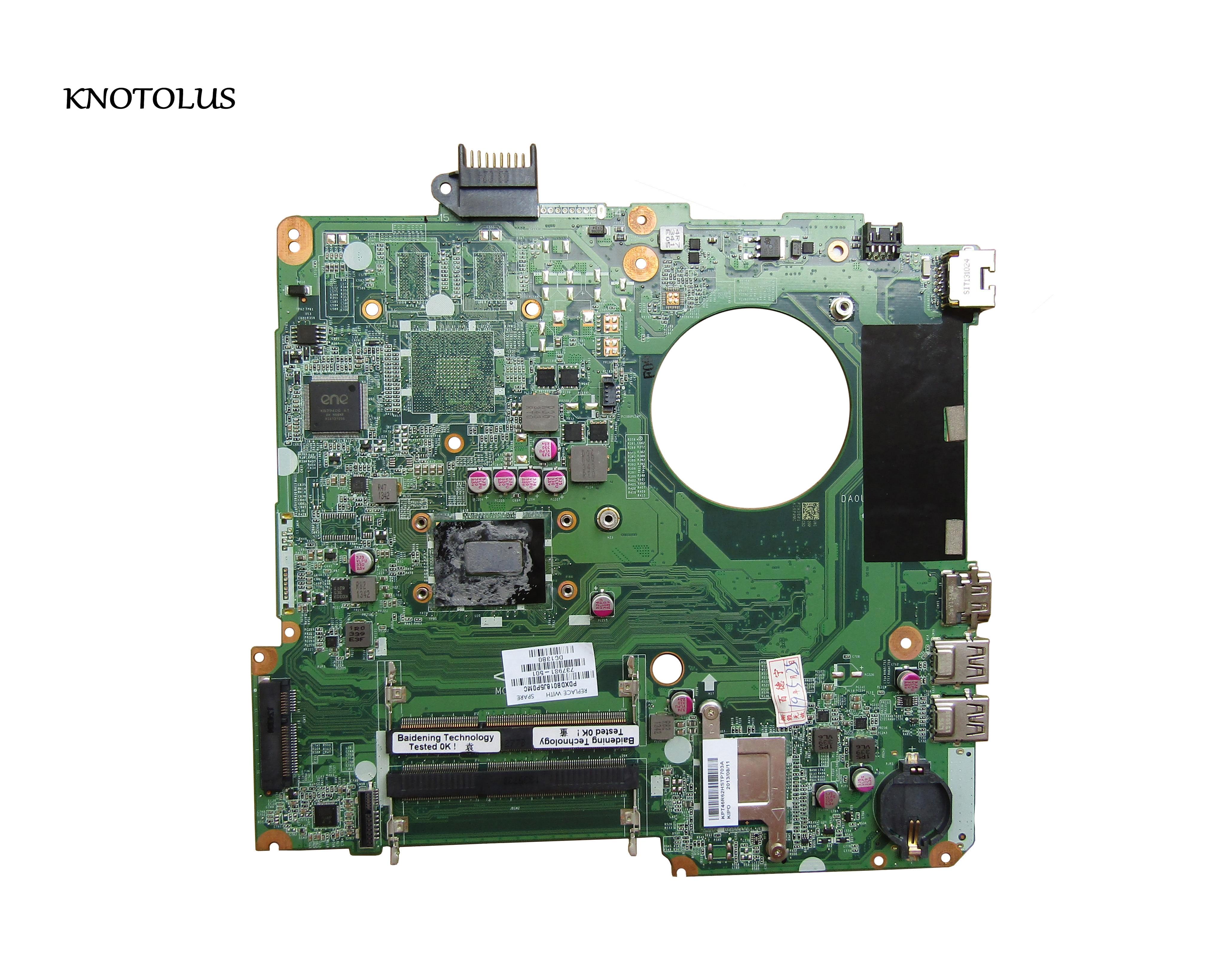 High Quality 737981-501 737981-001 737981-601 For Hp Pavilion 15-N Laptop Motherbroard DA0U81MB6C0 HM76 1007u 100% Fully Tested