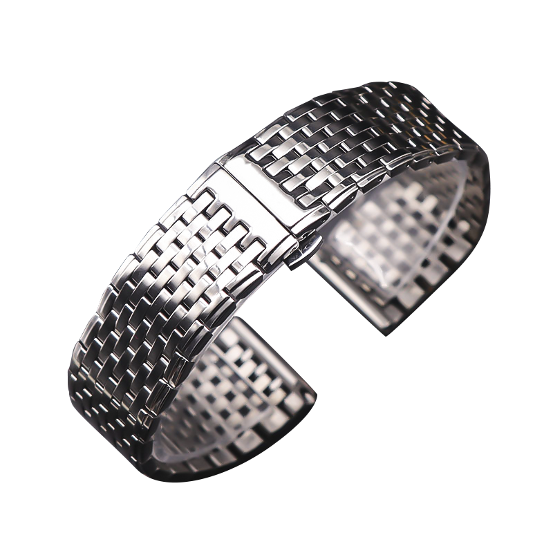 OTMENG Ultra-thin Stainless Steel Strap 16mm 18mm 19mm <font><b>20mm</b></font> 22mm High Quality Men/Women Suitable for Various Brands <font><b>Watch</b></font> <font><b>Band</b></font> image