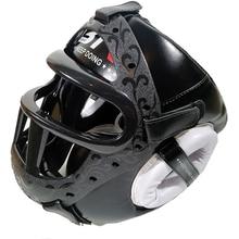 Kids/Adults MMA Sparring Muay Thai Boxing Helmet W/Mask Taekwondo Martial Arts Headgear Training Protective Head Protector DEO