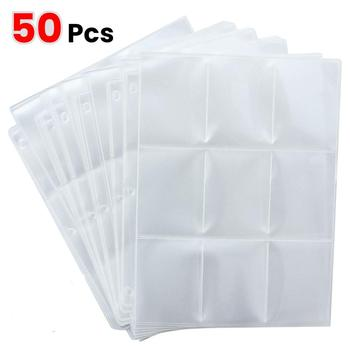 10/20/30/50pcs Game Card Sets Storage Wallet Album Page Collection Neutral Transparent Game Card Sleeves Card Album Card Cover page turners 2 beautiful game