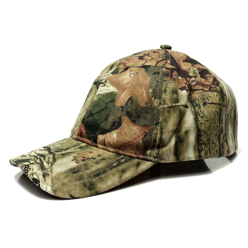 Men Outdoor Sport Snap Back Caps Camouflage Hat Simplicity Tactical Military Army Camo Hunting Cap Hat For Adult Cap