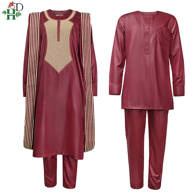 African Agbada Suit For Men 2