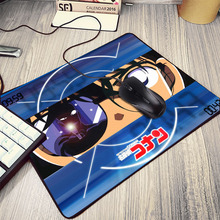 Hot Anime Detective Conan Detective Comic Cartoon Pattern Mousepad Pc Computer Notebook Small Size Table Desk Mouse Pad